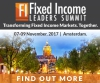 Fixed Income Future Leaders Summit (Amsterdam) 7-9 Nov 2017