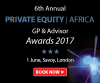 Private Equity Africa LP-GP Summit & 6th Awards Gala Dinner (London) 1 June 2017