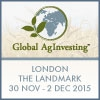 Global AgInvesting Europe (London) 30 Nov - 2 Dec 2015