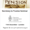 Secretary to Trustee (London) 11 Dec 2017
