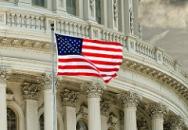 US flag Capitol Hill Donald Trump market impact