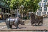 Frankfurt Stock Exchange Bull and Bear Markets