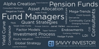 Savvy Investor Awards 2016 Investment Industry wordle