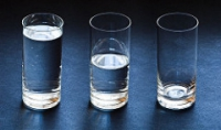 lower private equity returns glasses of water