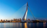 Rotterdam Erasmus Bridge Robeco