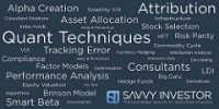 Smart Beta Quant - Savvy Investor wordle
