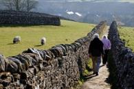 UK pensioners summer walk pensions