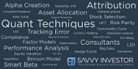 Savvy Investor Awards 2016 Smart Beta wordle