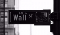 fixed income investing Wall Street black and white