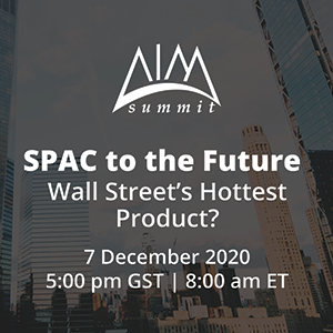 Webinar 7 Dec 2020: SPAC to the Future - Wall Street's Hottest Product?