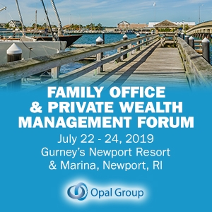 Family Office & Private Wealth Management Forum 2019 (Newport, RI) 22-24 Jul