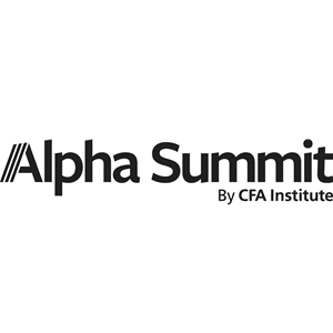 Virtual Event 18 May 2021: Alpha Summit by CFA Institute