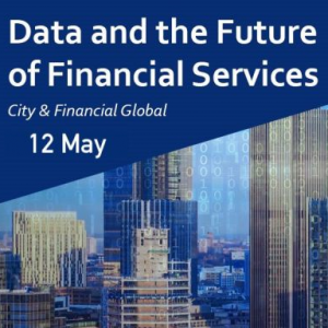 Virtual Event 12 May 2021: Data and the Future of the Financial Services