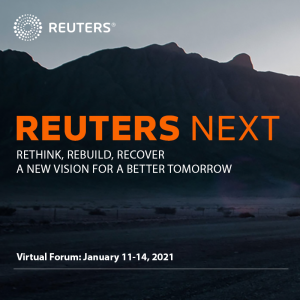 Virtual Event 11-14 Jan 2021: Reuters Next
