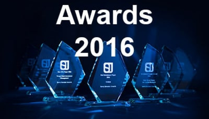 Savvy Investor Awards 2016 winner trophies