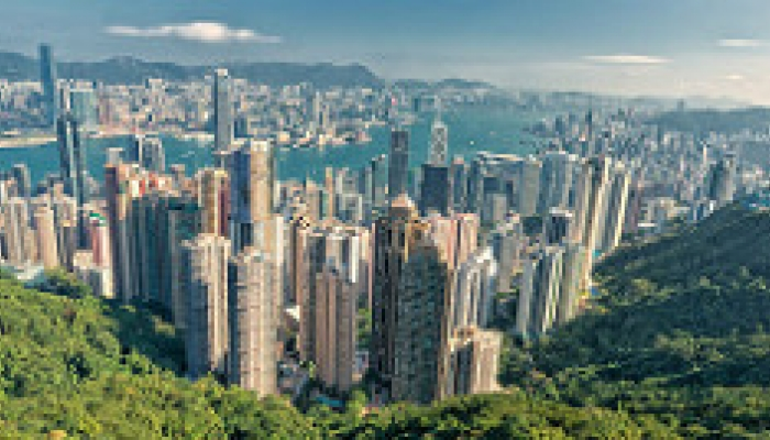 Hong Kong skyline top papers